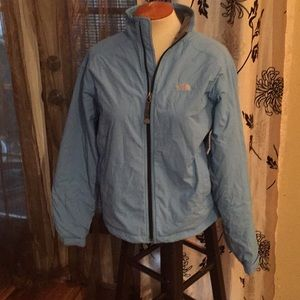 The North Face Blue gray inside size M